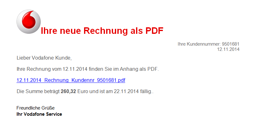 fappit down spam rechnung angeblich von vodafone. Black Bedroom Furniture Sets. Home Design Ideas