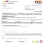 Vorlage Beschwerdebrief an Reiseveranstalter ITS